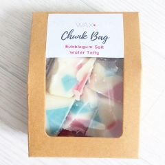 100g Bubblegum Salt Water Taffy Chunk Bag
